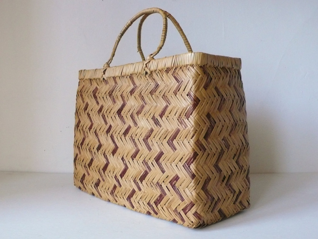 indonesian rattan bag