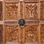 Indonesian wood carving