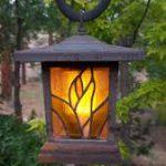 indonesian garden lamp